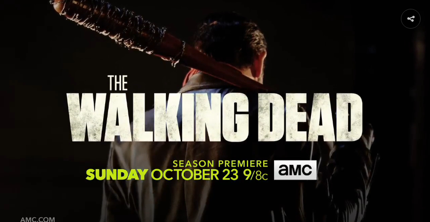 Tráiler 'The Walking Dead' séptima temporada