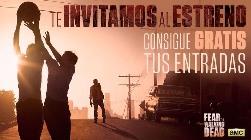 Fear The Walking Dead estreno Madrid