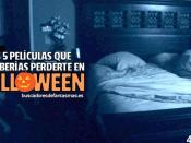 Las 5 películas que no deberías perderte en Halloween