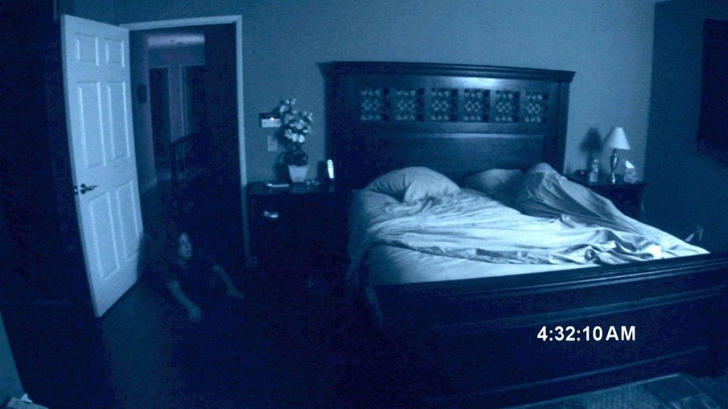 La saga Paranormal Activity