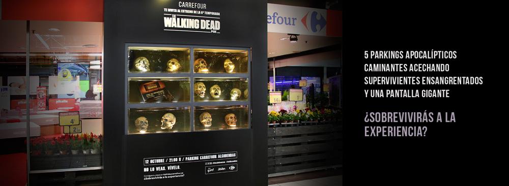 The Walking Dead estreno en Carrefour (1)