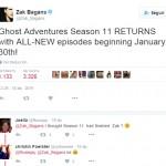 Zak Bagans anuncia la nueva temporada para enero