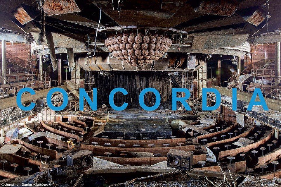 Costa Concordia Barco Fantasma