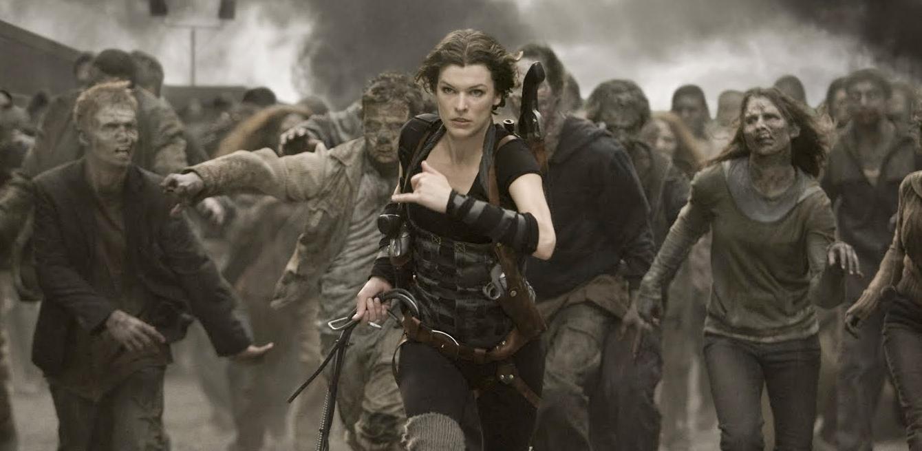 Escena Película Resident Evil