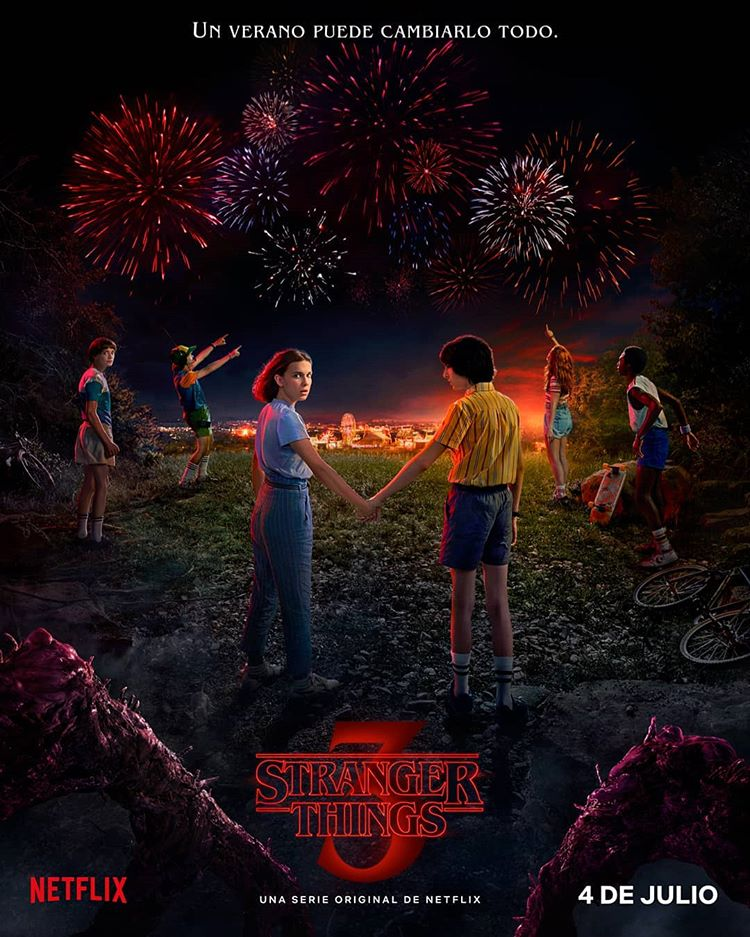 Stranger Things Tercera Temporada
